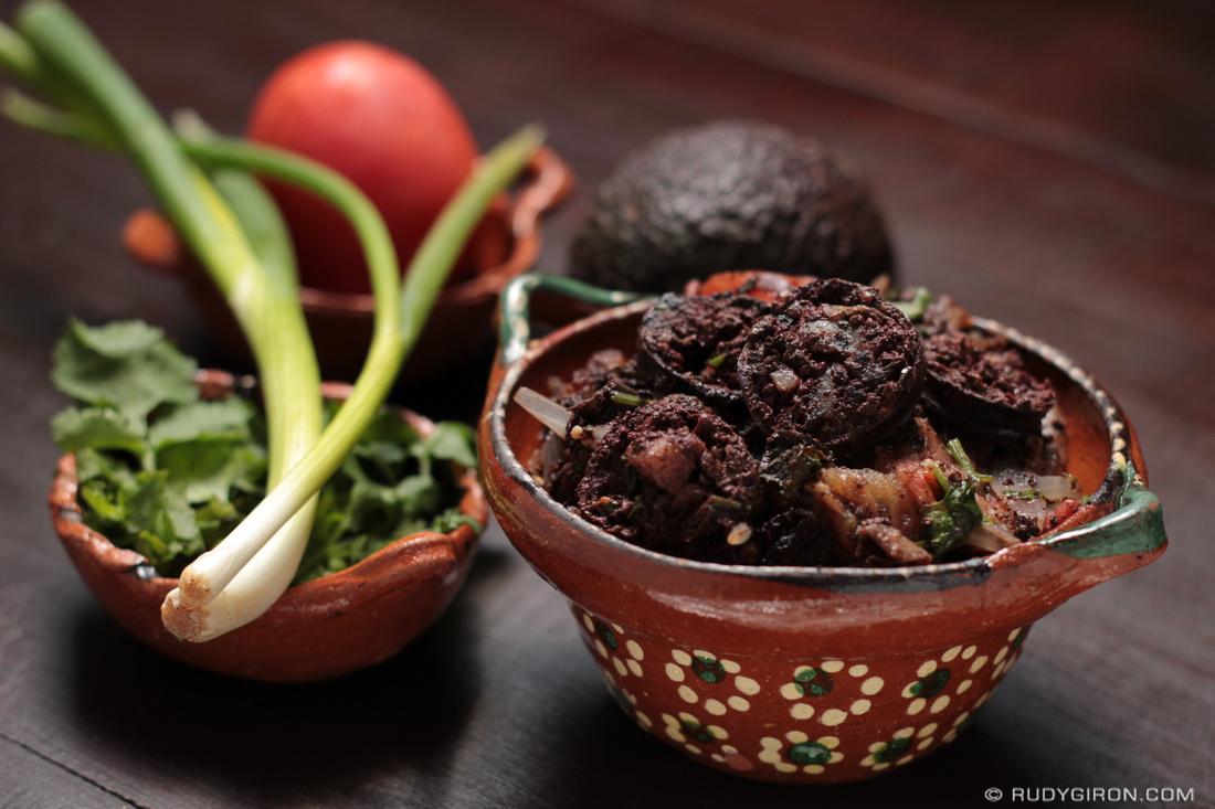 Guatemalan food: Moronga, Morcilla, Rellena, or Blood Sausage