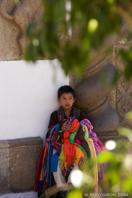 Rudy Giron: Antigua Guatemala &emdash; Boyhood in Antigua Guatemala