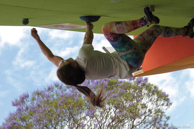 Rudy Giron: Antigua Guatemala &emdash; Antigua Boulder Challenge 2015