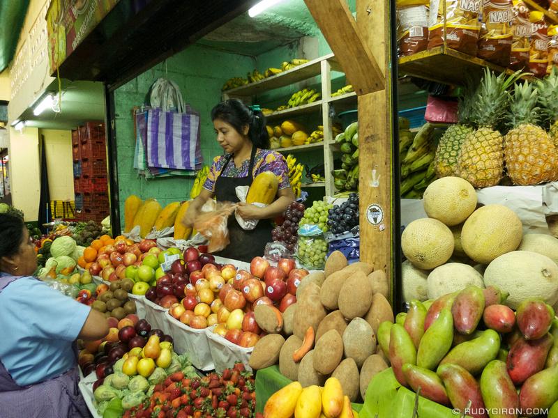 Rudy Giron: Antigua Guatemala &emdash; Antigua Market: Fresh fruits