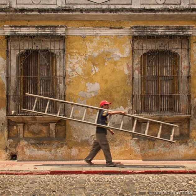 Rudy Giron: Instagrams &emdash; Super Mario Bros. Antigua Style © Rudy Giron