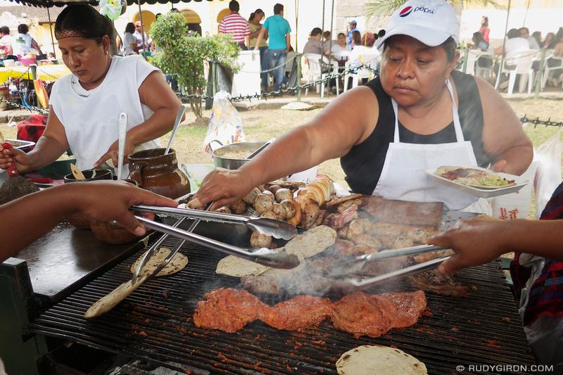 Rudy Giron: Antigua Guatemala &emdash; Holy Week Vistas: Street Food © Rudy Giron