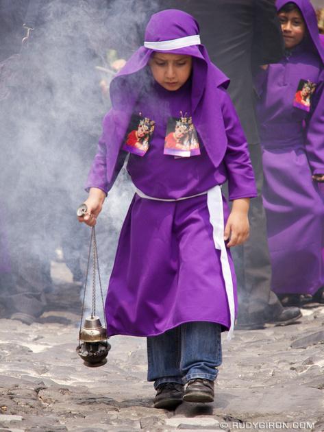 Rudy Giron: Antigua Guatemala &emdash; Lent Vistas: The incense burner