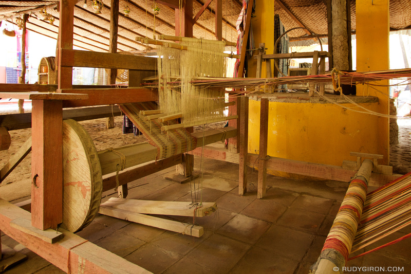 Rudy Giron: Mayan Weavers and Textiles &emdash; Mayan Foot Loom