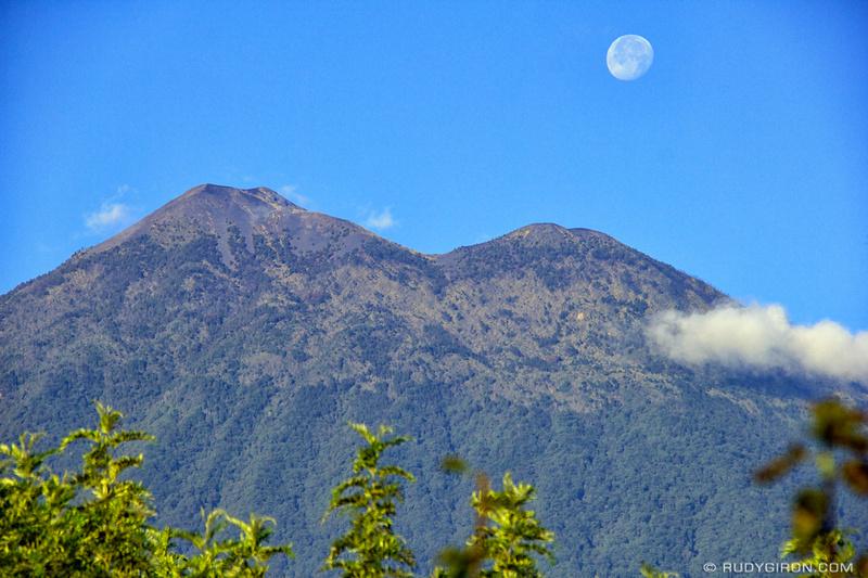 Rudy Giron: Antigua Guatemala &emdash; Twin Peaks and The Moon