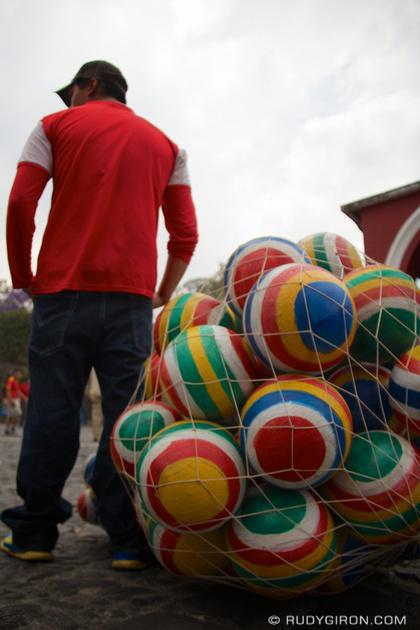 Rudy Giron: Antigua Guatemala &emdash; Organic Guatemalan Colorful Balls © Rudy Giron