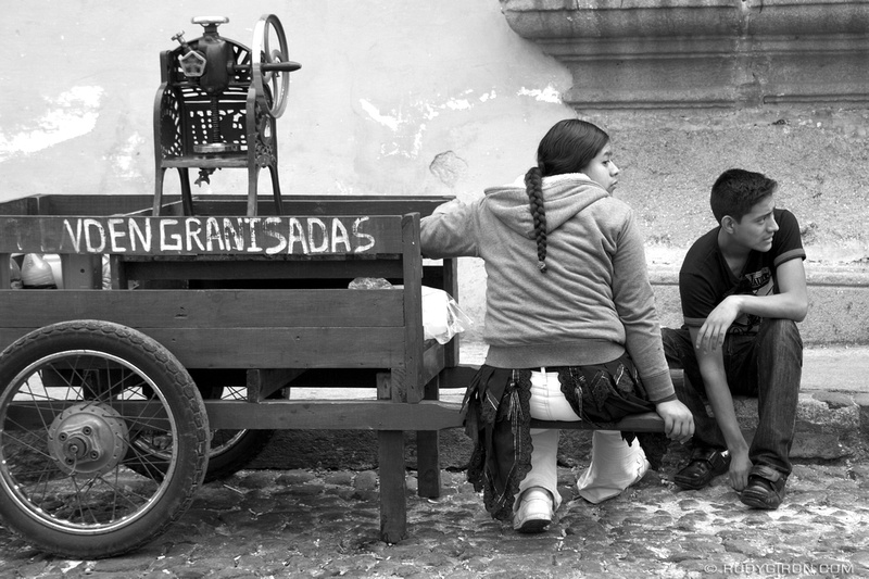 Rudy Giron: Antigua Guatemala &emdash; © Se Venden Granizadas, Antigua Guatemala by Rudy Giron