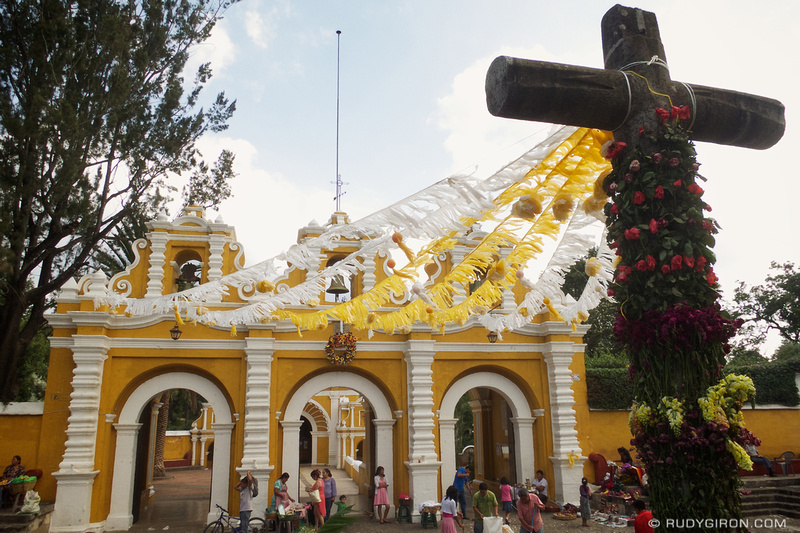 Rudy Giron: Antigua Guatemala &emdash; © Day of the Cross at El Calvario, Antigua Guatemala by Rudy Giron