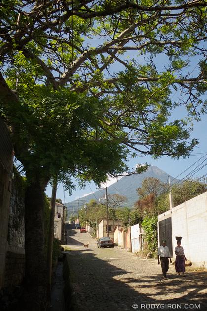 Rudy Giron: Antigua Guatemala &emdash; © Vista from San Juan del Obispo by Rudy Giron