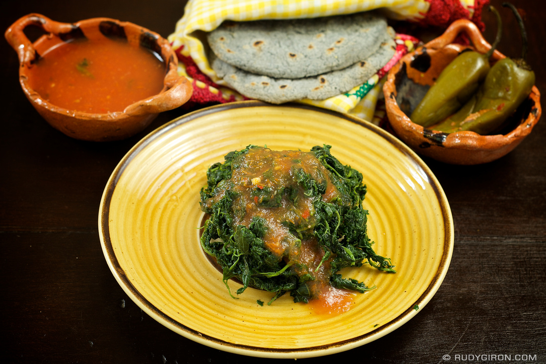 Rudy Giron: Guatemalan gastronomy &emdash; © Guatemalan Basket Food: Bledo by Rudy Giron