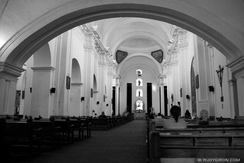 Rudy Giron: Antigua Guatemala &emdash; Inside Iglesia San Francisco El Grande, Antigua Guatemala