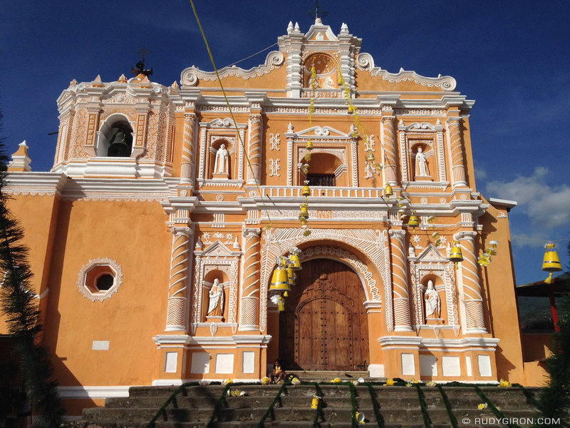 Rudy Giron: Antigua Guatemala &emdash; New Look of the temple of San Pedro Las Huertas
