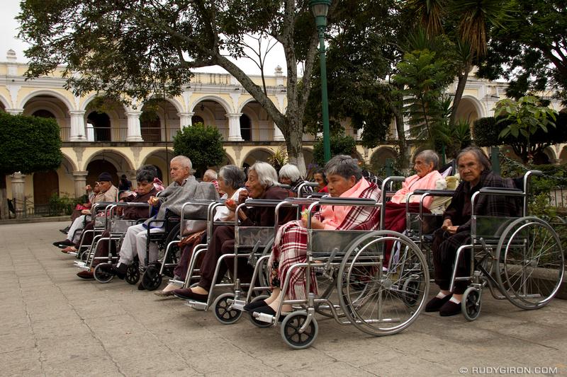 Rudy Giron: Antigua Guatemala &emdash; Sunbathing at Parque Central