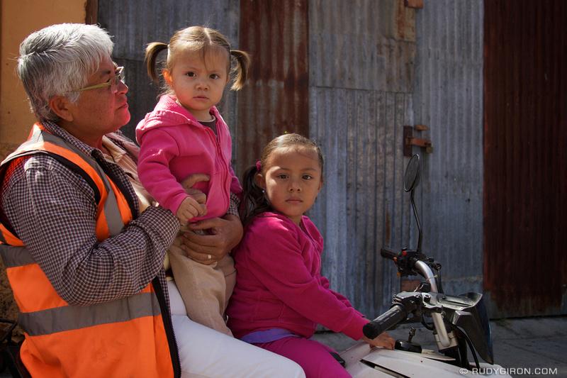 Rudy Giron: Antigua Guatemala &emdash; Family Errands