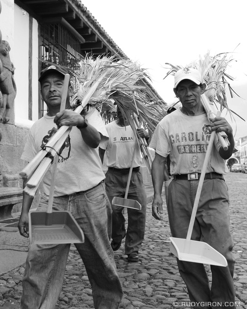 Rudy Giron: Antigua Guatemala &emdash; The Cleaning Crew
