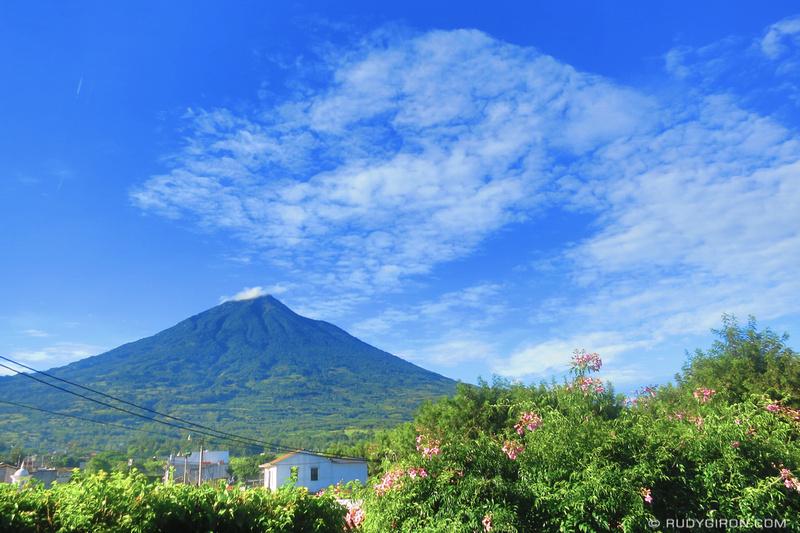 Rudy Giron: HDR photos &emdash; Volcano Hunajpú, Antigua Guatemala