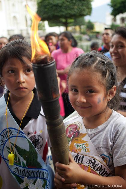 Rudy Giron: Antigua Guatemala &emdash; Guatemalan Freedom Torches