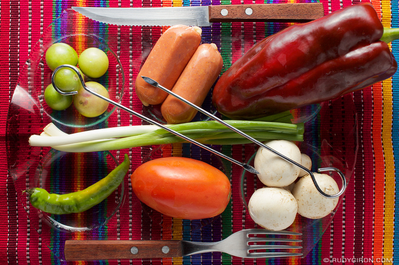 Rudy Giron: Guatemalan gastronomy &emdash; It's Shish Kebab Time