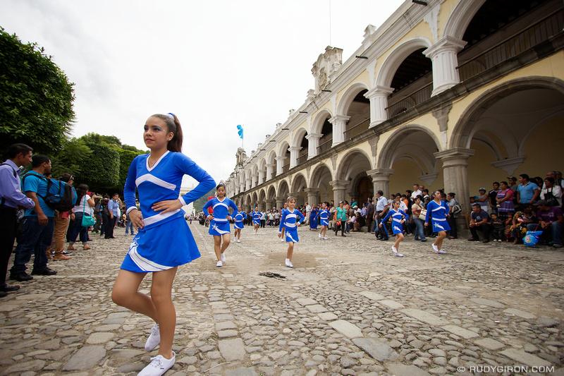 Rudy Giron: Antigua Guatemala &emdash; Guatemala's Independence Day Parades