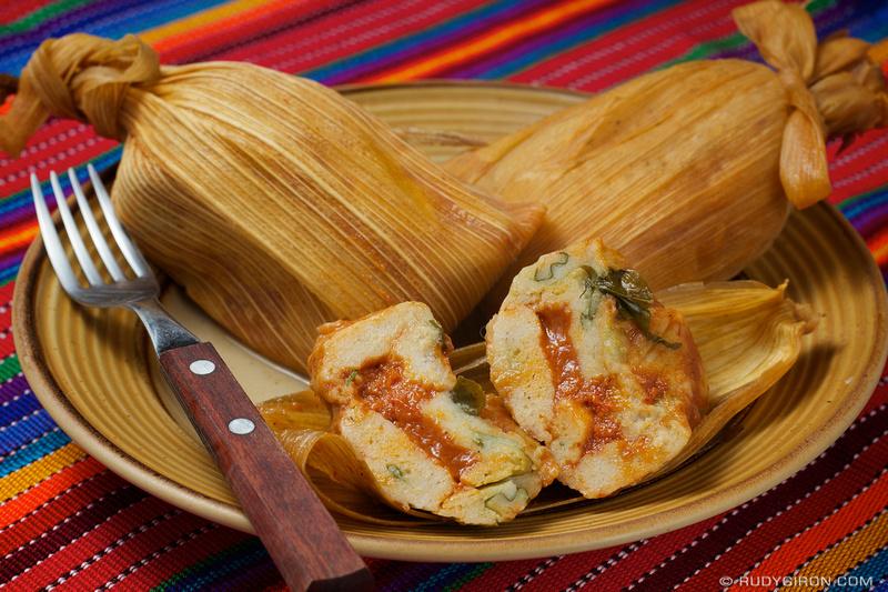 Rudy Giron: Guatemalan gastronomy &emdash; Guatemalan Food: Chuchitos con chipilín