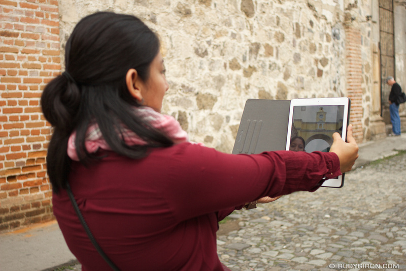Rudy Giron: Antigua Guatemala &emdash; Taking selfies in Antigua Guatemala