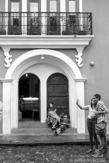 Rudy Giron: Antigua Guatemala &emdash; Dos Guatemalas BW