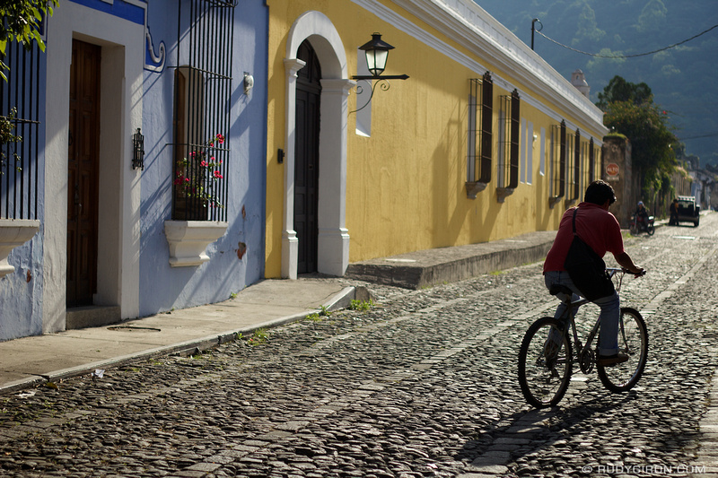 Rudy Giron: Antigua Guatemala &emdash; Morning Errands in La Antigua Guatemala