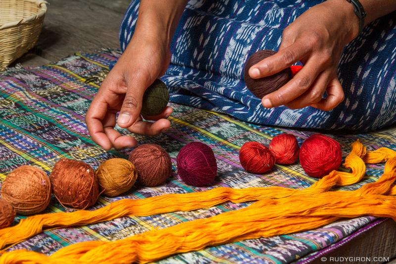 Rudy Giron: Antigua Guatemala &emdash; The Handmade Economy — Textiles