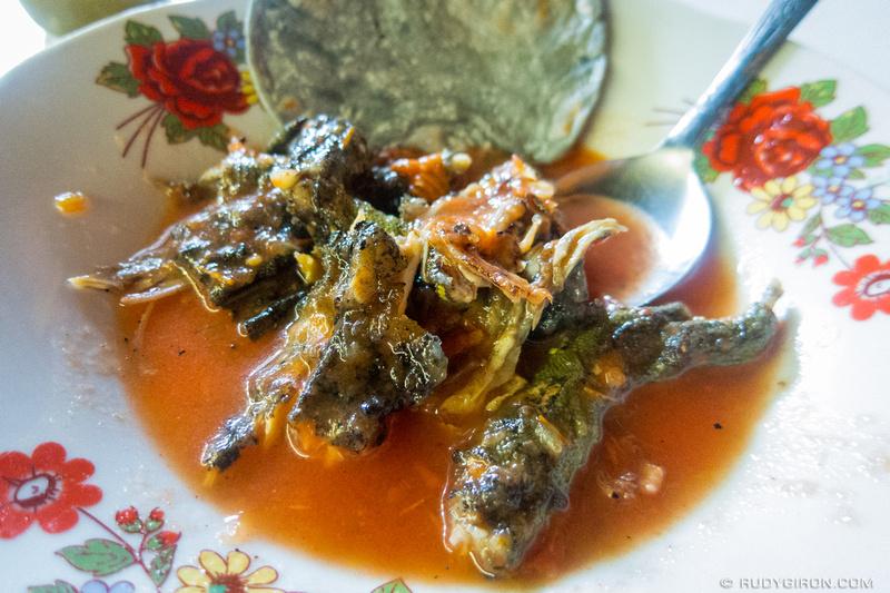 Rudy Giron: Guatemalan gastronomy &emdash; Guatemalan Exotic Foods- Iguana