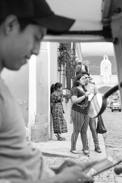Rudy Giron: Antigua Guatemala &emdash; Framing Vistas of Daily Life in La Antigua Guatemala