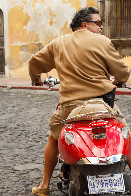 Rudy Giron: Antigua Guatemala &emdash; While in Antigua Guatemala, Ride with Style