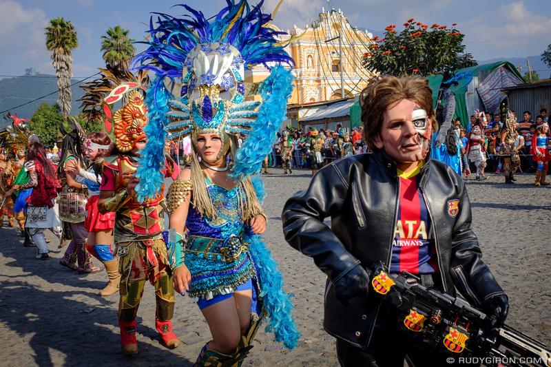 Rudy Giron: Antigua Guatemala &emdash; Convite Costume Dance from San Pedro Las Huertas 1