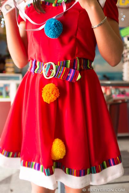 Rudy Giron: Antigua Guatemala &emdash; Guatemalan Santa Helper Colorful Costume