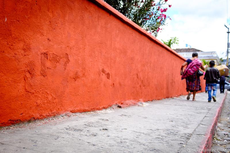 Rudy Giron: Antigua Guatemala &emdash; Color Palette — Rojo antigüeño