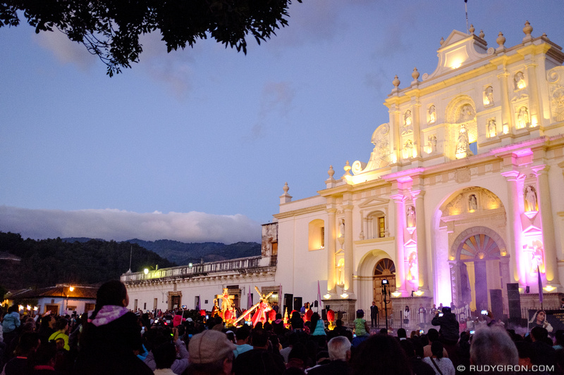 Rudy Giron: Antigua Guatemala &emdash; First Sunday's Procession of Lent Season