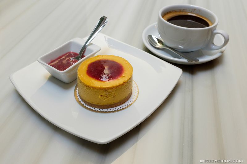Rudy Giron: Antigua Guatemala &emdash; Coffee plus Dessert from Ganache