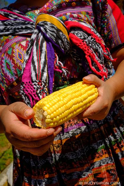 Rudy Giron: Antigua Guatemala &emdash; We're made of maize