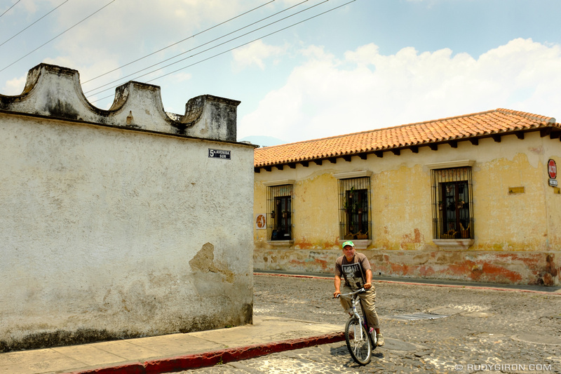 Rudy Giron: Antigua Guatemala &emdash; Bicycle Transportation in Antigua Guatemala
