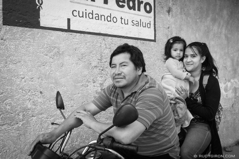 Rudy Giron: Antigua Guatemala &emdash; Street Photography — Family Vehicle for 3 or 5