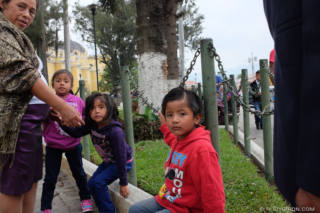 Family Time By La Merced Church