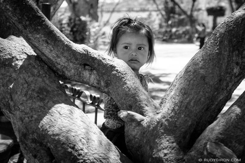 Rudy Giron: Antigua Guatemala &emdash; Portraits of Strangers — Mayan girl
