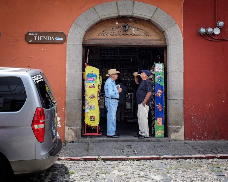 Rudy Giron: Antigua Guatemala &emdash; The Benefits of Tiendas