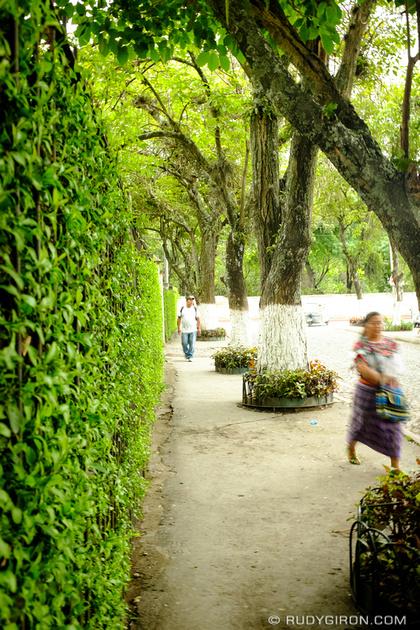 Rudy Giron: Antigua Guatemala &emdash; Alameda Santa Lucía, Antigua Guatemala