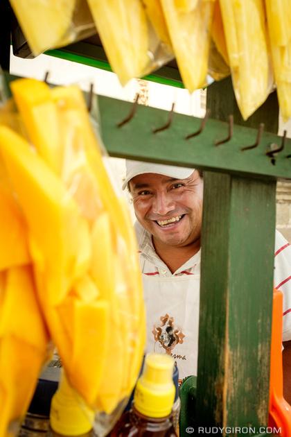 Rudy Giron: Antigua Guatemala &emdash; Portraits of Strangers — Fruit Vendor