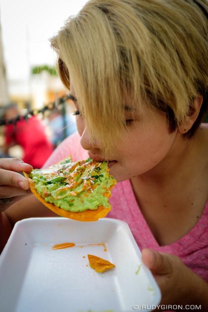 Rudy Giron: Antigua Guatemala &emdash; Enjoying A Guatemalan Tostada de Guacamol