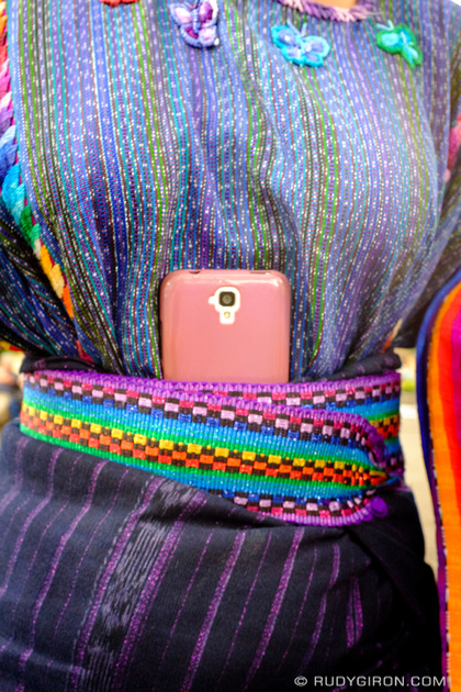 Rudy Giron: Antigua Guatemala &emdash; Mayan Textiles and Smartphones