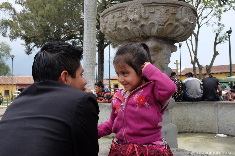 Rudy Giron: Antigua Guatemala &emdash; Bonding time at Fuente de La Merced