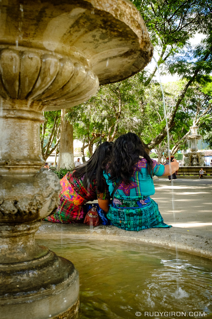 Rudy Giron: Antigua Guatemala &emdash; Selfies and the Maya