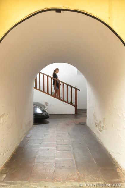 Rudy Giron: Antigua Guatemala &emdash; Double Arch Frame in Compañía de Jesús, Antigua Guatemala