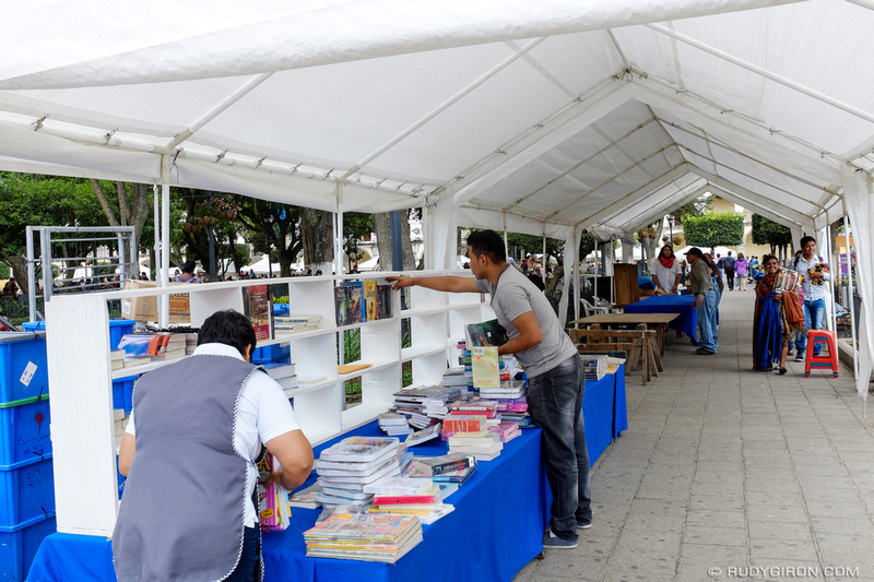 Rudy Giron: Antigua Guatemala &emdash; Book Fair for the Saint James Festivities